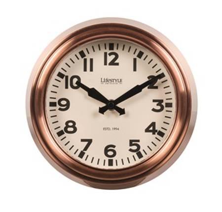 Klokke i kobber design