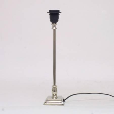 Lampefot sølv small