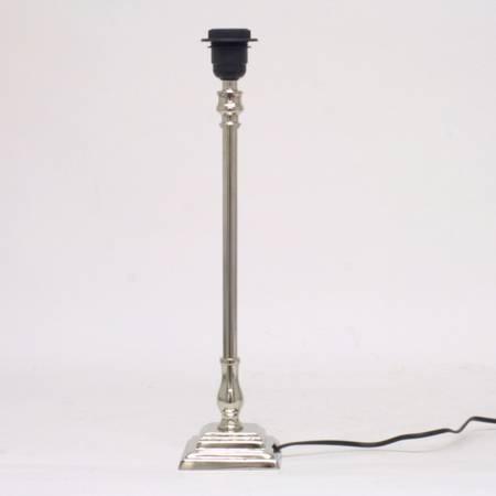 Lampefot sølv medium